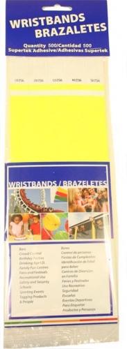 Neon Yellow Wristbands