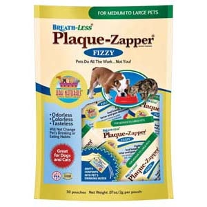 BREATH-LESS PLAQUE-ZAPPER