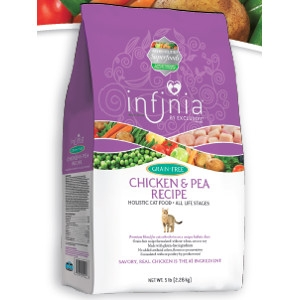 Infinia Grain-Free Chicken & Pea Recipe Holistic Cat Food
