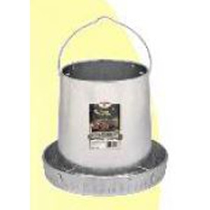 12 Lb. Galvanized Hanging Poultry Feeder