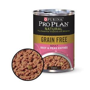 Purina Pro Plan Grain Free Adult Beef & Peas Entree