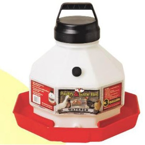 3-Gal. Plastic Poultry Fountain