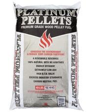Platinum Wood Burning Pellets Sale