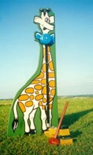 Giraffe Kiddie Stiker
