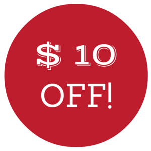$10 Off Any Purchase of $100 or More!