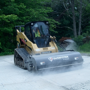 Paladin SB Hopper Sweeper Skid Steer Attachment