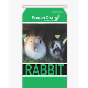 Poulin Grain Maintenance 16% Rabbit Pellet 50lbs.