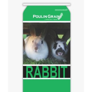 Poulin Grain Growth 18% Rabbit Pellet