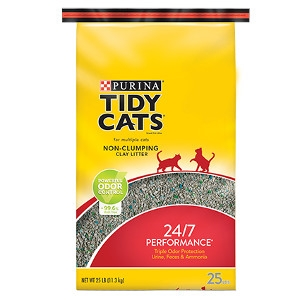 Tidy Cats 24/7 Performance Non-Clumping Cat Litter 40 lb. Bag