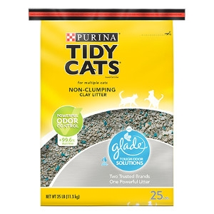 Tidy Cats LightWeight with Glade Tough Odor Solutions Cat Litter 40 lb. bag