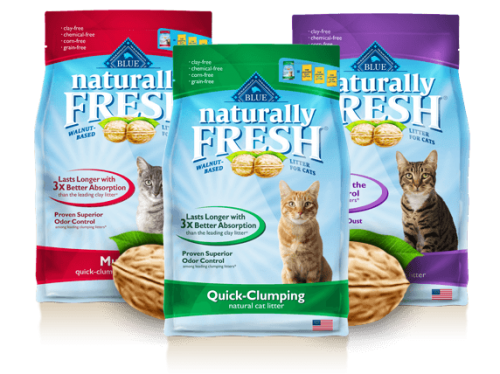 $5 off Blue Naturally Fresh Cat Litter