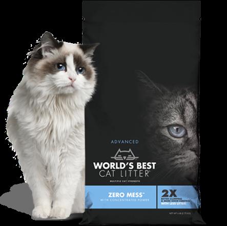 $10 off Worlds Best Zero Mess Cat Litters