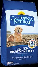 $25 off California Natural Dog Food