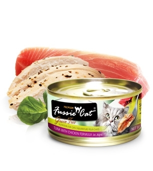 10% off Fussie Cat Canned Food