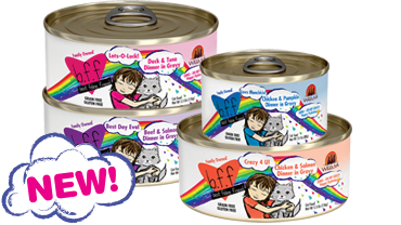 Buy 2 Get 1 Free Can of NEW BFF OMG Cat Food