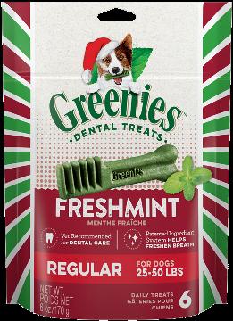 50% off Christmas Greenies