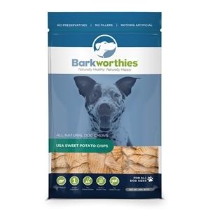 $4 off Barkworthies Sweet Potato Slices Treats