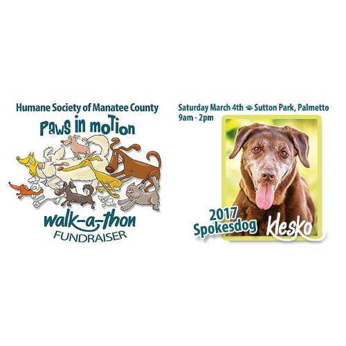 Paws in Motion Walk-a-thon Fundraiser 2017