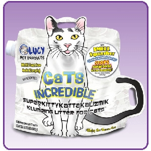 Cats Incredible Unscented 14lb Bag Kitty Litter