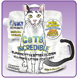 Cats Incredible Unscented 25lb Bag Kitty Litter