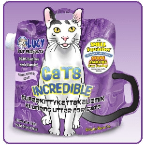 Cats Incredible Lavender 25 lb Bag Kitty Litter