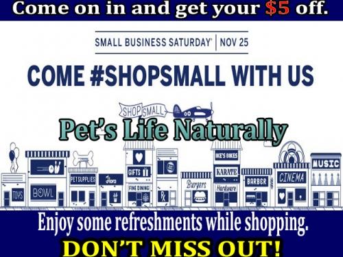 Shop Small Saturday Savings