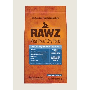 RAWZ Salmon, Chicken, & Whitefish 3.5 Lb. for Cats