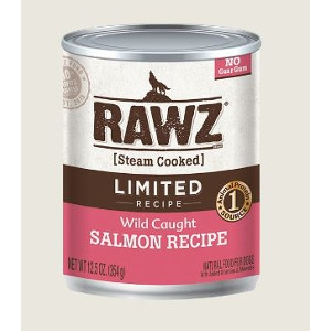 Rawz LID Wild Caught Salmon 12.5oz Canned Dog Food