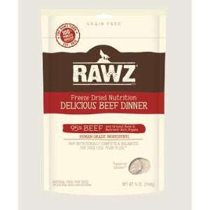 Rawz Freeze Dried Beef 14 Oz. Dog Food