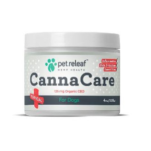 Pet Releaf Canna Care Topical 4oz.