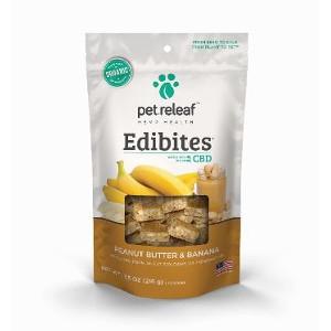 Pet Releaf Edibites Peanut Butter and Banana 7.5oz