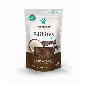 Pet Releaf Edibites Carob and Coconut 7.5oz