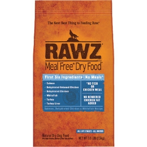 RAWZ Salmon, Dehydrated Chicken, & Whitefish Recipe 20 Lb. Dog Food