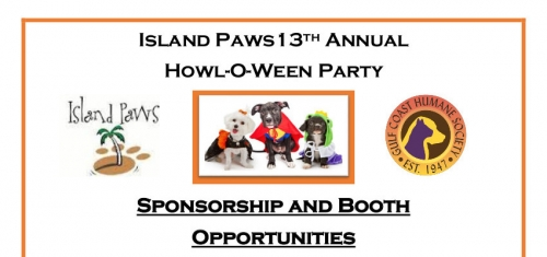 Become a Sponsor for Our Howl-O-Ween Party!