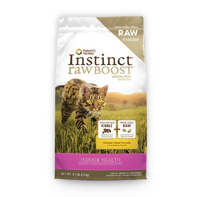 Instinct Raw Boost Indoor Health Chicken Dry Cat Food, 5.1 lbs.