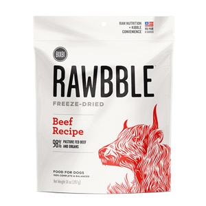 Rawbble™ 2 oz. Freeze Dried Beef Treats for Dogs
