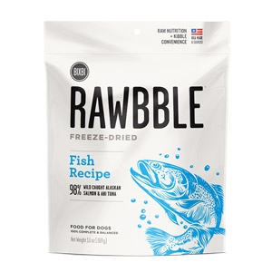Rawbble™ 2 oz. Freeze Dried Fish Treats for Dogs