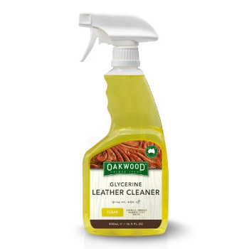 Oakwood Glycerine Leather Cleaner, 16.9OZ
