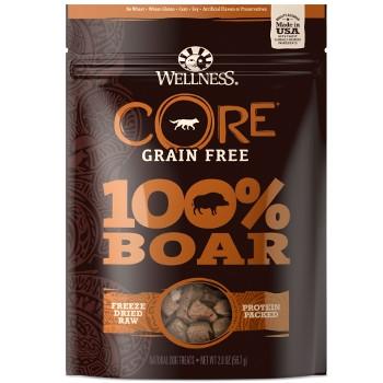 Wellness Core Grain Free 100% Freeze Dried Boar Dog Treats