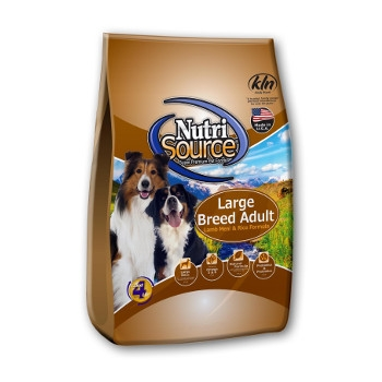 NutriSource® Large Breed Adult Lamb Meal & Rice Dry Dog Food