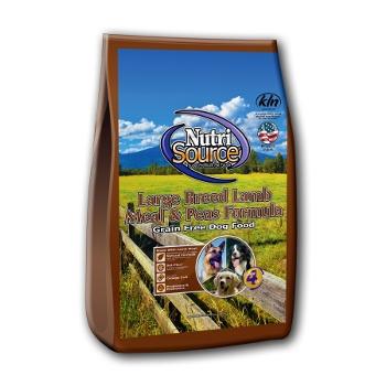 NutriSource® Grain Free Lamb Meal & Peas Dry Dog Food