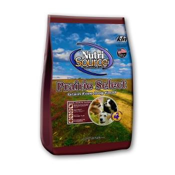 NutriSource® Prairie Select Grain Free Dry Dog Food