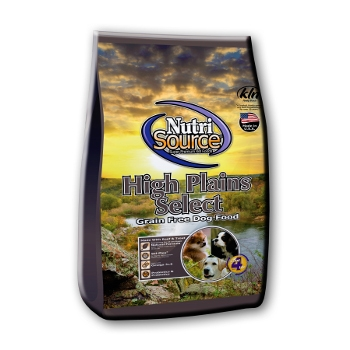 NutriSource® High Plains Select Grain Free Dry Dog Food