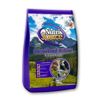 NutriSource® Heartland Select Grain Free Dry Dog Food