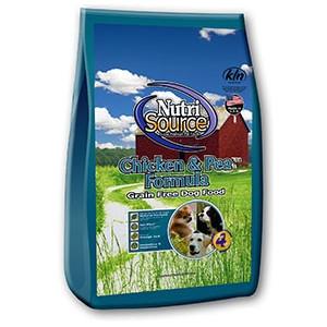 NutriSource® Chicken & Pea Formula Grain Free Dry Dog Food