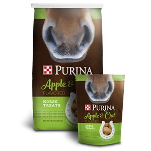 Purina® Apple and Oat-Flavored Horse Treats