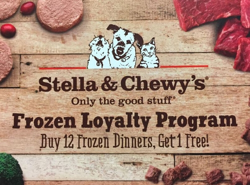 Stella & Chewy's Frozen Loyalty Program