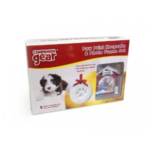 Royal Pet Inc. Pawprint Keepsake with Photo Frame Kit