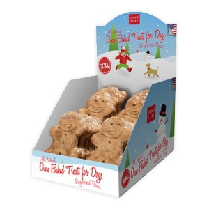 XXL Oven Baked Gingerbread Treats for Dogs