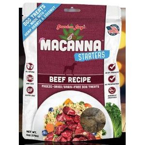 Macanna Beef Starters Freeze-Dried Dog Treats